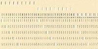 Punch Card - 1976